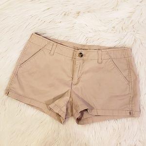 Arizona Jeans Tan Summer Shorts